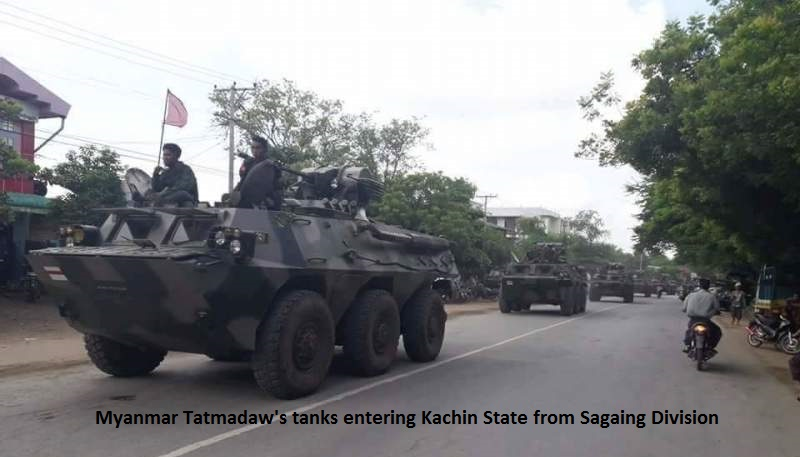 Understanding Myanmar Tatmadaw's Offensives - Kachinland News